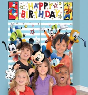 Mickey Mouse Scene Setter with Photo Booth Props