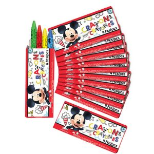 Mickey Mouse Crayon Boxes 12ct