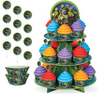 Teenage Mutant Ninja Turtles Cupcake Kit for 24