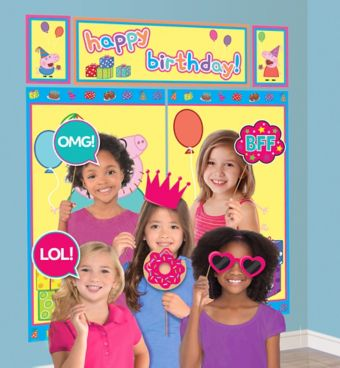 Peppa Pig Photo Booth Kit with Props