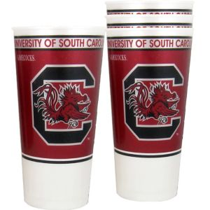 South Carolina Gamecocks Plastic Cups 4ct