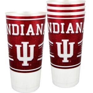 Indiana Hoosiers Plastic Cups 4ct