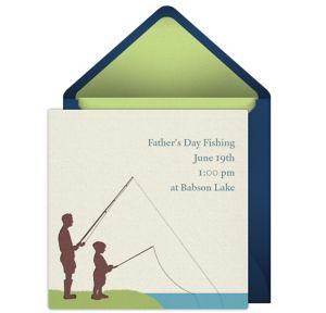 Online Family Fishing Invitations