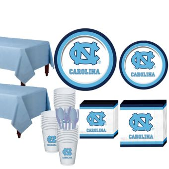 North Carolina Tar Heels Basic Party Kit for 40 Guests