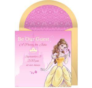 Online Belle Invitations