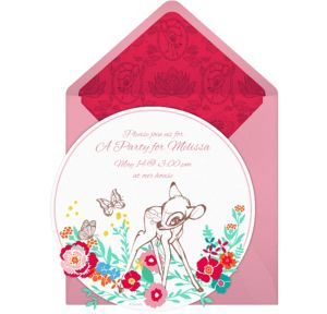Online Bambi Invitations