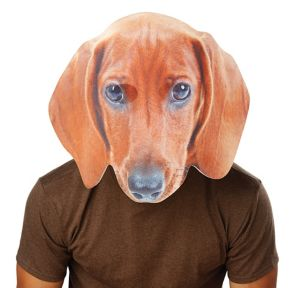 Adult Oversized Dachshund Mask