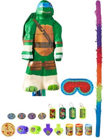Leonardo Pinata Kit with Favors - Teenage Mutant Ninja Turtles