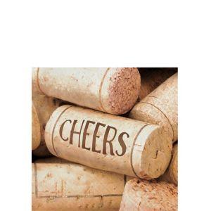 Cheers Beverage Napkins 16ct