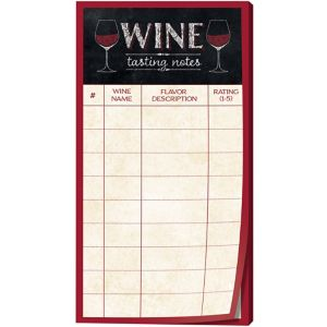 Wine Tasting Note Sheets 30ct Party City