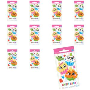 Jumbo Sweet Shop Stickers 24ct