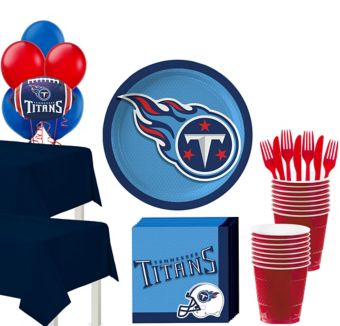 Tennessee Titans Deluxe Party kit for 36 Guests