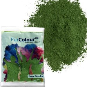 Green Color Powder