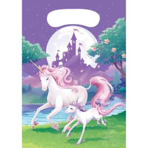Unicorn Favor Bags 8ct