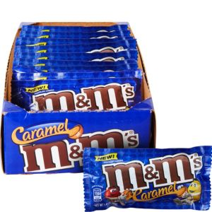 Milk Chocolate Caramel M&M's Pouches 24ct