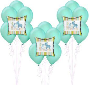 Happy Jungle Boy Baby Shower Balloon Kit
