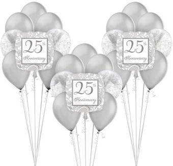 25th Anniversary Balloon Kit