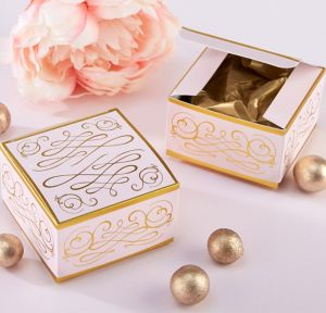 Modern Romance Favor Boxes 12ct