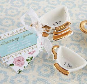 Tea Time Teacup Measuring Spoons