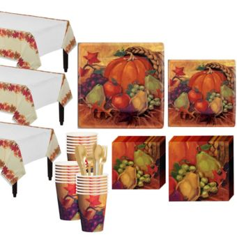 Harvest Still Life Tableware Kit for 32 Guests