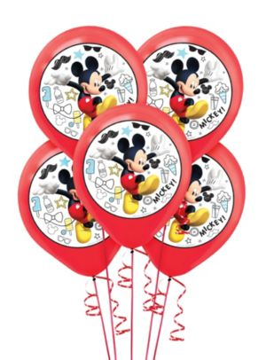 Mickey Mouse Balloons 5ct