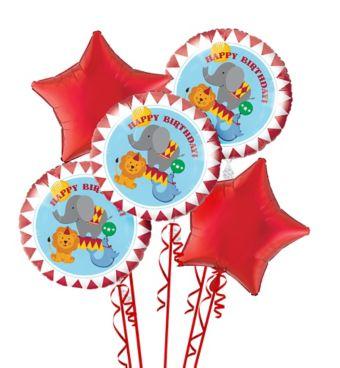 Carnival Balloon Bouquet 5pc