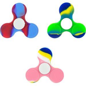Tie-Dye 3-Sided Fidget Spinner