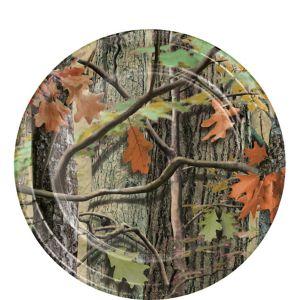 Hunting Camo Dessert Plates 8ct