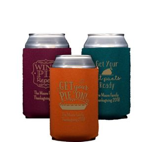 Personalized Thanksgiving Collapsible Can Coozies
