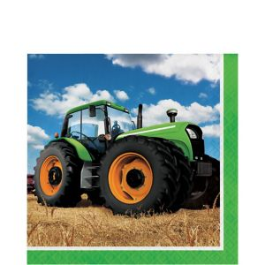 Tractor Lunch Napkins 16ct