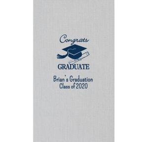 Personalized Graduation Bella Guest Towels