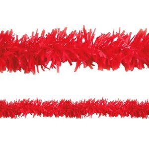 Red Twisted Fringe Garland