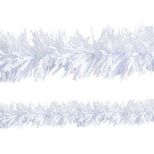 White Twisted Fringe Garland