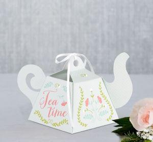 Teapot Favor Boxes 12ct