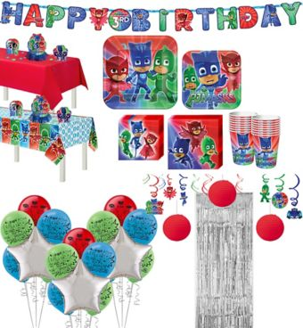 PJ Masks Tableware Ultimate Kit for 16 Guests
