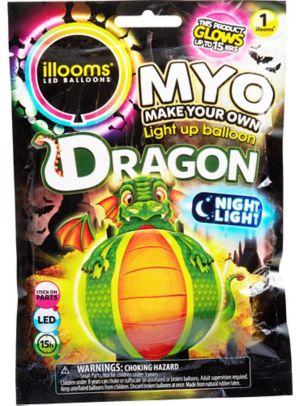 Illooms Light-Up Dragon LED Balloon Lantern