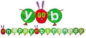 The Very Hungry Caterpillar Birthday Garland