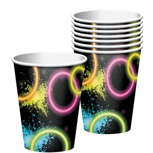 Neon Party Cups 8ct