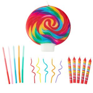 Wilton Dylan's Candy Bar Birthday Candles 16ct