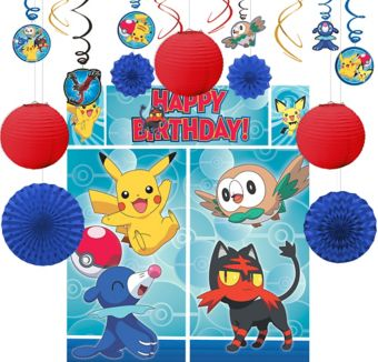 Pokemon Decoration Kit