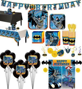 Batman Tableware Ultimate Kit for 16 Guests