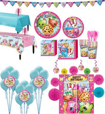 Shopkins Tableware Ultimate Kit for 16 Guests