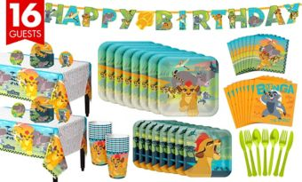 Lion Guard Tableware Party Kit for 16 Guests