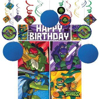 Teenage Mutant Ninja Turtles Decoration Kit