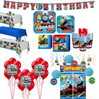 Thomas The Tank Engine Tableware Ultimate Kit for 24 Guests