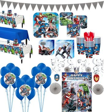 Avengers Tableware Ultimate Kit for 24 Guests
