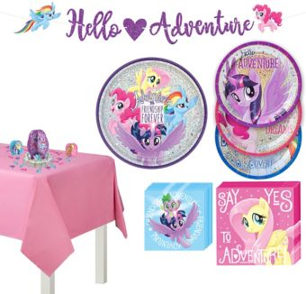 My Little Pony Tableware Party Kit for 8 Guests