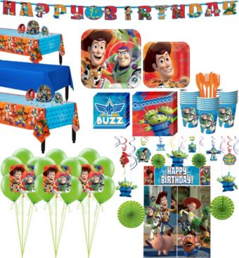 Toy Story Tableware Ultimate Kit for 24 Guests