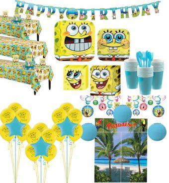 SpongeBob Tableware Ultimate Kit for 24 Guests