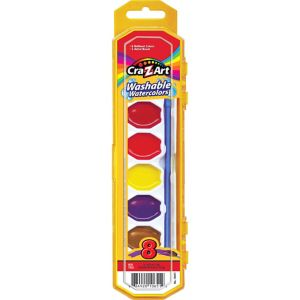 Small Cra-Z-Art Washable Watercolors Kit 2pc
